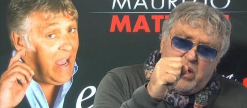 Casting per uno spettacolo con Maurizio Mattioli e uno spettacolo di Maurizio Colombi