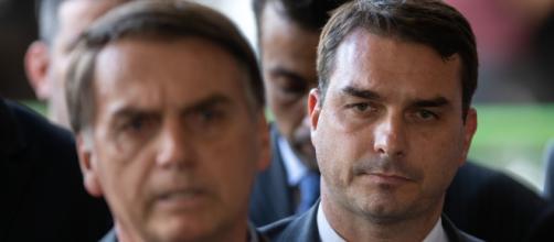 Flávio Bolsonaro é o filho mais velho de Jair. Foto: G1