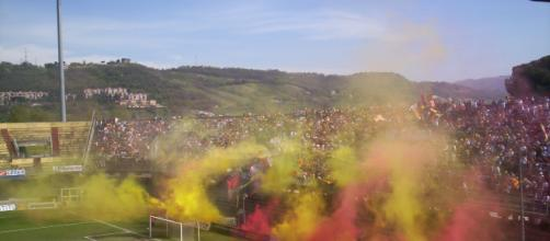 Il Benevento è primo nella classifica spettatori di Serie B. Foto - pianetazzurro.it