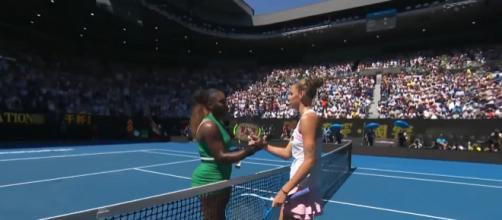Karolina Pliskova beats Serena Williams at their 2019 Australian Open quarterfinals match. Image credit - Australian Open | YouTube