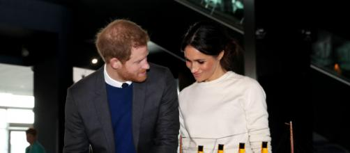 Prince Harry and Meghan Markle welcome New Zealand Prime Minister in London. [Image source: Northern Ireland Office/Wikimedia Commons CC BY 2.0]