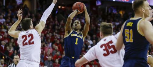 The Wolverines lost their first game of the 201-19 season against Wisconsin. [Image via MLive/YouTube]