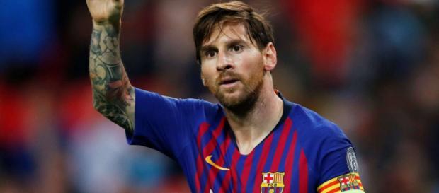 Messi le capitaine du FC Barcelone