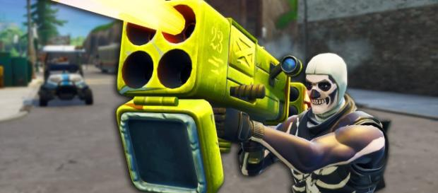 Quad Launcher to be removed from Fortnite. Credit: TmarTn2 / YouTube