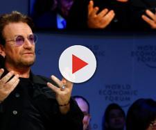 Bono a Davos in occasione del World Economic Forum