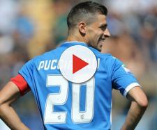 L'attaccante Pucciarelli in procinto di passare al Lecce