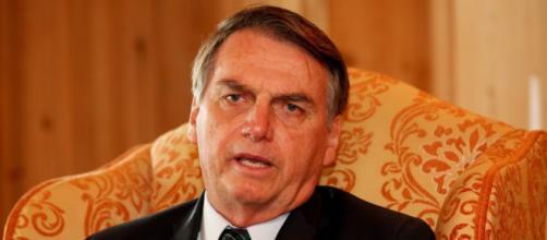 Bolsonaro se pronuncia sobre o filho. Fonte: Extra