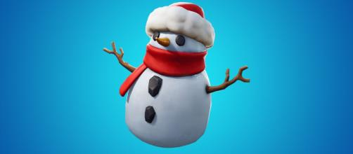 Fortnite patch v7.20 adds Sneaky Snowman. [image source: Fortnite/YouTube screenshot]