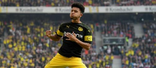 Jadon Sancho, la giovane freccia di Dortmund