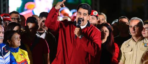 Maduro è crisi in Venezuela -foto tratta da time.com