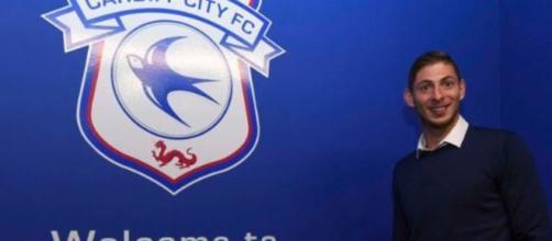 Novo reforço do Cardiff, o jogador Emiliano Sala continua desaparecido (Twitter/Cardiff)