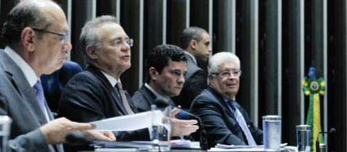 Renan aparece como o candidato anti-Moro no Senado - (Foto: Geraldo Magela/Agência Senado)