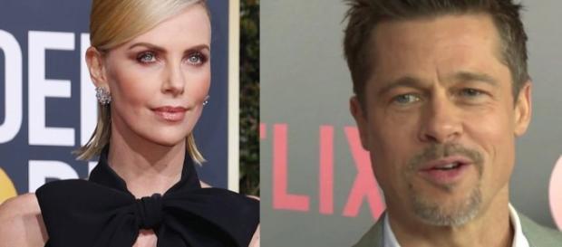 Brad Pitt y Charlize Theron en posible relación amorosa