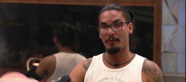 Vanderson foi eliminado (Reprodução TV Globo)