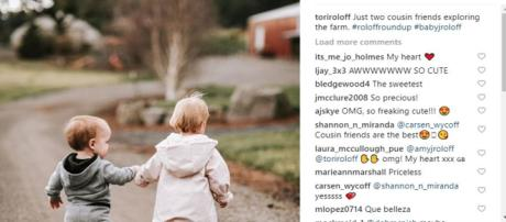 Little People, Big World: Tpri Rloff shares photo and vids of Baby J and Cousin Ember - Image credit - Tori Roloff | Instagram.