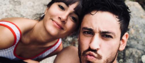 Aitana y Cepeda, concursantes de 'OT 2017'. / TWITTER