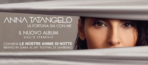 """Anna Tatangelo presenterà il brano """"Le nostre anime di notte"""" al Festival di Sanremo"""