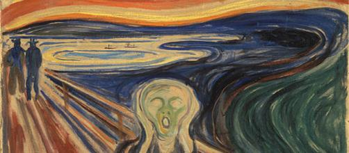 Edvard Munch's The Scream [Image credit: photographer /Google Art Project]