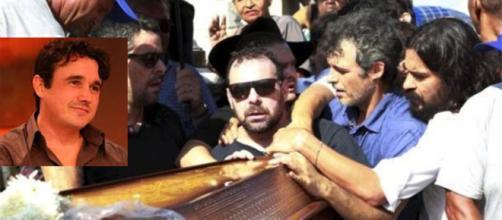 Enterro se encerrou com salva de palmas (foto: reprodução / TV Globo)