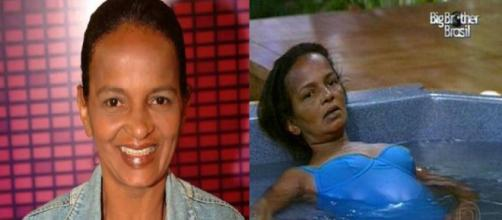 Marielza Souza sofreu um AVC dentro do BBB (Foto: Globo/PDN)