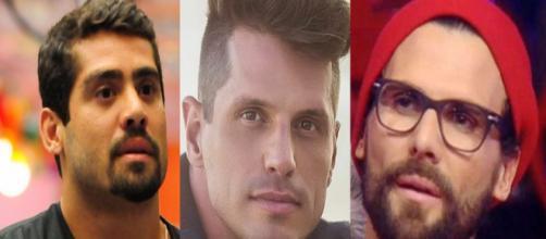 Yuri fernandes, Fernando Fernandes e Jeremy Jackson tiveram problemas com a justiça (Foto: Globo/BBC/PDN Entretenimento)