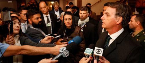 Bolsonaro comenta tragédia em Brumadinho - © Alan Santos/PR - Flickr Palácio do Planalto