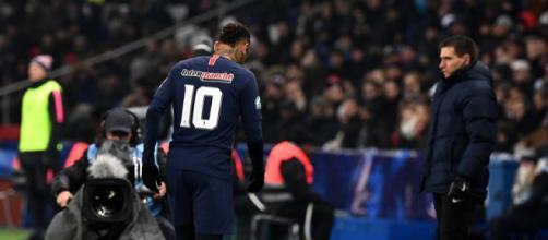 Coupe de France : Neymar blessé au pied droit - rtl.fr