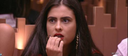 Hana vence prova e se torna a primeira líder do BBB19 (Reprodução/TV Globo)