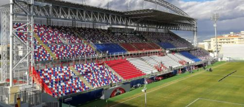 """Lo stadio comunale """"Ezio Scida"""" contro il di Crotone"""