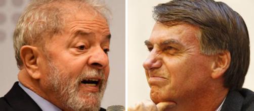 Preso, Lula fala sobre Bolsonaro. Fonte: A Folha de São Paulo