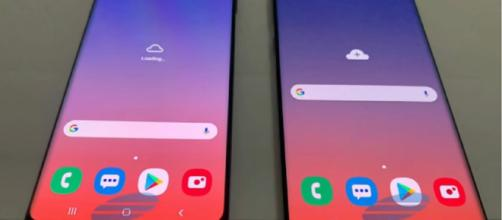 The Galaxy S10 will launch next month. [Image credit: TechTalkTV/YouTube]