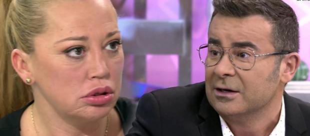 Jorge Javier Vázquez cuando coincide con Belén Esteban consigue saber nuevos detalles sobre la boda