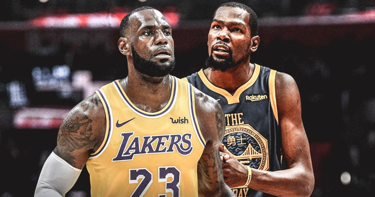 7ecf0208cf5e Kevin Durant has high praise for LeBron James