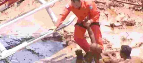 Barragem de Brumadinho causa estragos em Minas Gerais. Fonte: UOL