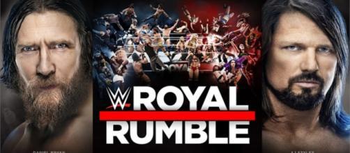 Daniel Bryan vs AJ Styles for WWE Championship – [image credit: Royal Rumble/Youtube]