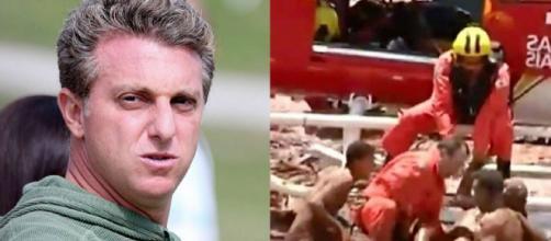 Famosos prestam solidariedade às vítimas de Brumadinho (Reprodução: TV Globo /Record TV Minas)