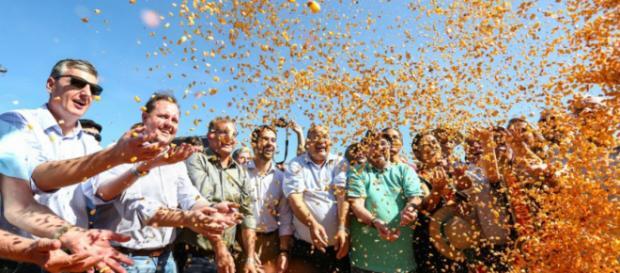 Cerimônia contou com a presença do Governador do Estado, Eduardo Leite (Gustavo Mansur/Palácio Piratini)