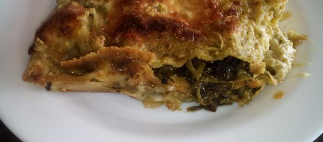 Ricetta lasagne alla crema di pesto, spinaci e ricotta: un piatto unico che stupisce tutti