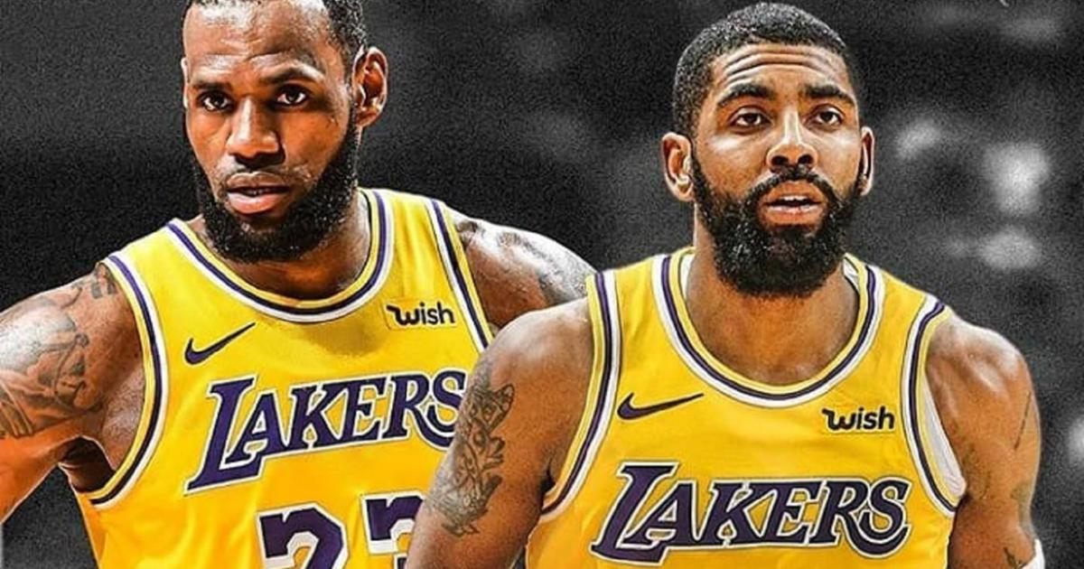 709e96e4f495 Kevin Love talks about Kyrie reuniting with LeBron on Lakers