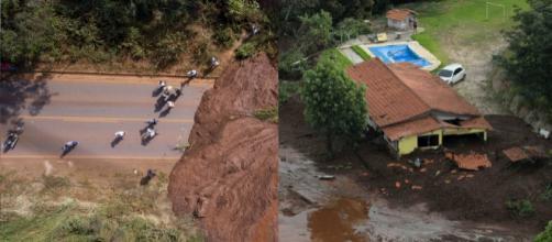 Evacuação em Brumadinho (Reprodução/TV Globo)