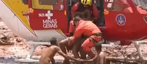 Hundreds still missing after Brazil dam collapses in Brumadinho. [Image source/ITV News YouTube video]