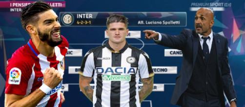 La nuova Inter di Spalletti con De Paul e Carrasco