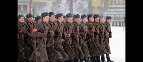 Military parade to mark end of 75 years of German siege of Petersburg Phot0- Image credit (screenshot RTV/youtube.com)