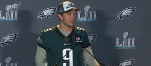 Nick Foles is expected to become a free-agent during the offseason. [Image Credit] Philadelphia Eagles - YouTube