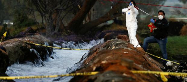 Aumenta a 114 la cifra de fallecidos por explosión en ducto de Pemex. - visorinformativo.com