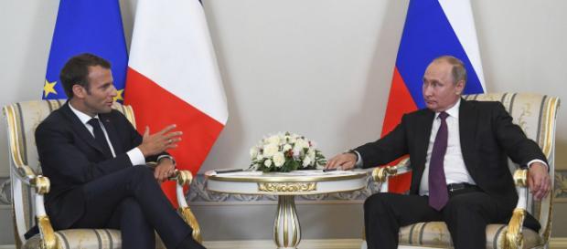 Poutine et Macron renouent le dialogue - lefigaro.fr