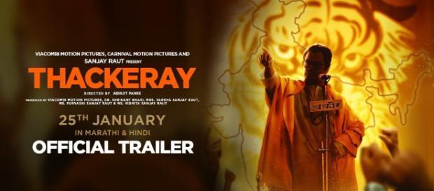 "The publicity blurb of ""Thackeray"" starring Nawazuddin Siddiqui-Photo-(Image- screenshot-Viacom 18/ Youtube.com)"