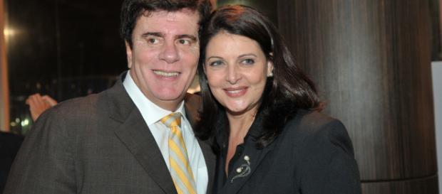 Wagner Montes e Sônia Lima (Divulgação/RecordTV)