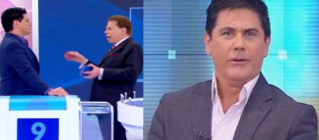 César Filho e Silvio Santos (Foto - SBT)