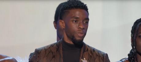 Chadwick Boseman's inspiring words culminated the 2019 25th SAG Awards. [Image source:TNT-YouTube]